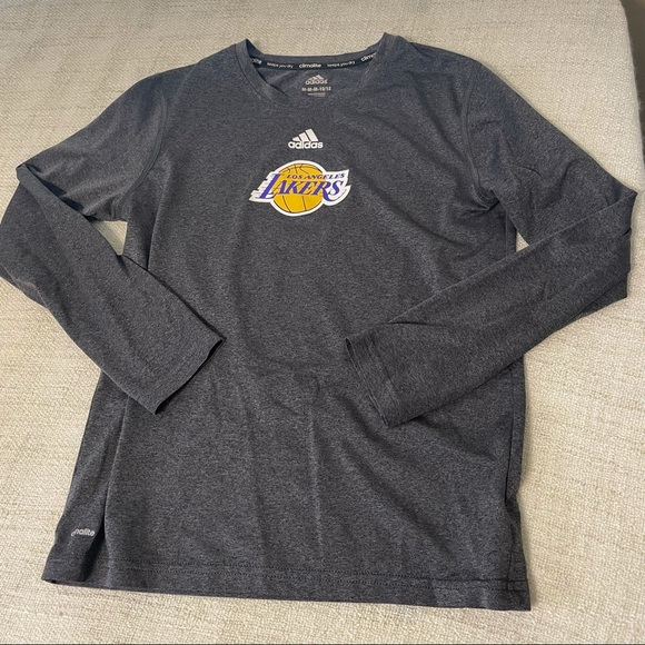 Kids Adidas Lakers shirt